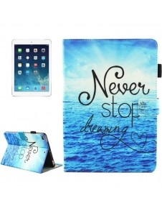 Táblagép tok iPad mini 4 / mini 3 / mini 2 / mini colos készülékekhez - NEVER STOP DREAMING