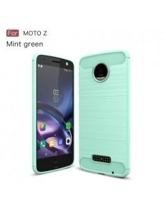 Motorola Moto Z karbon mintás tok - CIÁN