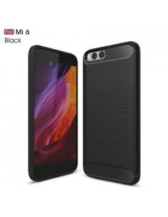 Xiaomi Mi 6 karbon mintás tok - FEKETE