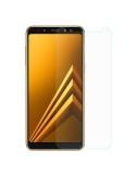 Kijelzővédő karcálló edzett üveg Samsung Galaxy A8 (2018) típusú telefonhoz
