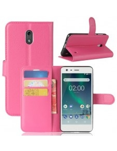 Notesz tok Nokia 2 telefonhoz - PINK