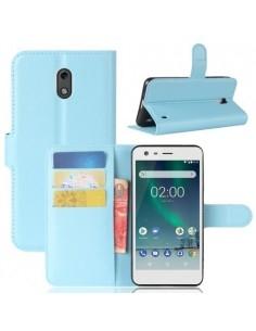 Notesz tok Nokia 2 telefonhoz - KÉK