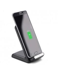 ITIAN A18 10W QI vezeték néküli töltő iPhone 8/8 Plus/Samsung S8/S8+/S7/S7 Edge/Note5 készülékekhez - FEKETE