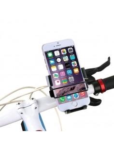 HAWEEL kerékpár kormányra rögzíthető telefontartó 49-75 mm széles készülékekhez - FEKETE
