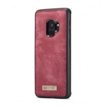 CaseMe 2 az 1-ben mappa tok Samsung Galaxy S9 telefonhoz - PIROS