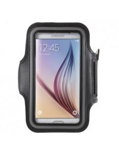 Karra csatolható fekete rugalmas anyagú telefontok sportoláshoz - 7,5*14 cm - FEKETE