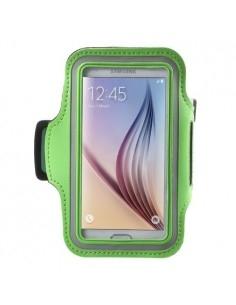 Karra csatolható zöld rugalmas anyagú telefontok sportoláshoz - 7,5*14 cm - ZÖLD