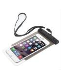 Vízálló mobiltelefon tartó 16.3 x 9 cm készülékekhez - FEKETE