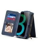 DIBASE multifunkciós telefontok Samsung Galaxy S9 / Galaxy A8 (2018) telefonhoz - KÉK