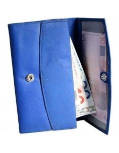 Nagyméretű női pénztárca - KÉK - 495035030060