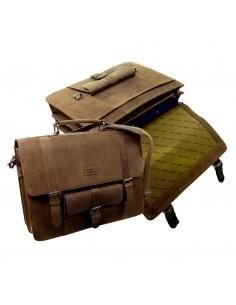 Landleder valódi bőr táska - Piece Briefcase - 1000