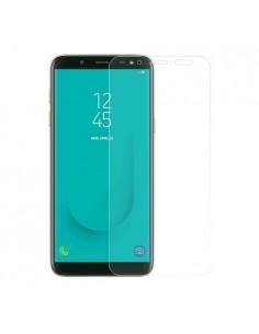 Kijelzővédő karcálló edzett üveg Samsung Galaxy J6 (2018) típusú telefonhoz