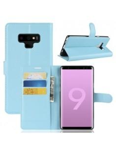 Oldalra nyíló tok Samsung Galaxy Note 9 telefonhoz - KÉK