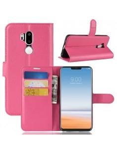 Oldalra nyíló tok LG G7 ThinQ telefonhoz - PINK