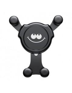 BASEUS Gravity szellőzőrácsra rögzíthető univerzális telefon autóstartó - SMILE MINTÁS