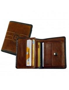 Scoth pénztárca - Barna - 11x7 cm - LandLeder - 1665-25