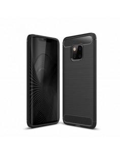 Huawei Mate 20 Pro karbon mintás tok - FEKETE