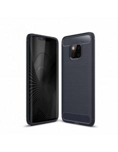 Huawei Mate 20 Pro karbon mintás tok - KÉK
