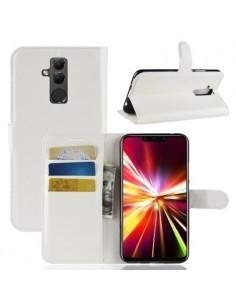 Oldalra nyíló tok Huawei Mate 20 Lite telefonhoz - FEHÉR