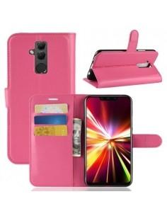 Oldalra nyíló tok Huawei Mate 20 Lite telefonhoz - PINK