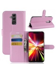 Oldalra nyíló tok Huawei Mate 20 Lite telefonhoz - RÓZSASZÍN