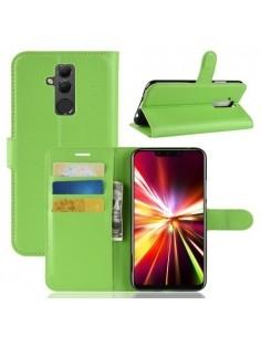 Oldalra nyíló tok Huawei Mate 20 Lite telefonhoz - ZÖLD