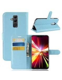 Oldalra nyíló tok Huawei Mate 20 Lite telefonhoz - KÉK