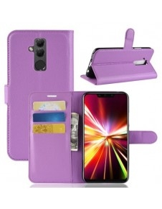 Oldalra nyíló tok Huawei Mate 20 Lite telefonhoz - LILA