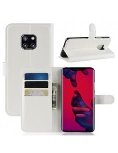 Oldalra nyíló tok Huawei Mate 20 Pro telefonhoz - FEHÉR
