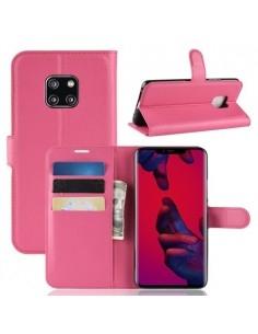 Oldalra nyíló tok Huawei Mate 20 Pro telefonhoz - PINK