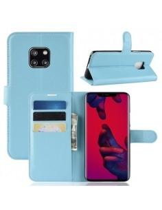 Oldalra nyíló tok Huawei Mate 20 Pro telefonhoz - KÉK