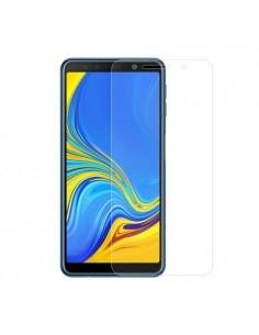 Kijelzővédő karcálló edzett üveg Samsung Galaxy A7 (2018) típusú telefonhoz
