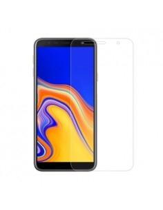 Kijelzővédő karcálló edzett üveg Samsung Galaxy J4 Plus típusú telefonhoz