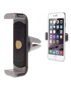 Autó szellőzőrácsra rögzíthető telefon autós tartó - FEKETE-SZÜRKE