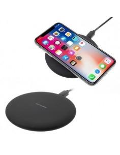 Kör alakú Wireless vezeték nélküli asztali töltő, töltőpult - FEKETE