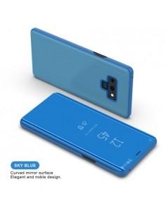 Flip telefontok átlátszó előlappal Samsung Galaxy Note 9 készülékhez - KÉK