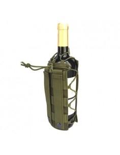 Övre, hátizsákra csatolható bortartó, italtartó - ZÖLD