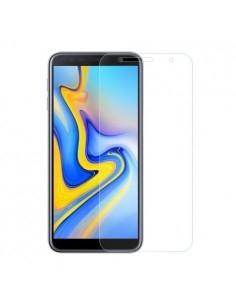 Kijelzővédő karcálló edzett üveg Samsung Galaxy J6 Plus típusú telefonhoz