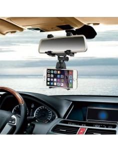 a rögzíthető telefon tartó 5-9 cm széles készülékekhez - FEKETE