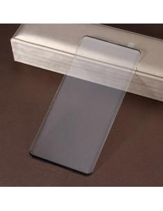 Kijelzővédő karcálló edzett üveg Samsung Galaxy S10 típusú telefonhoz