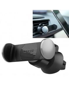 ROCK autó szellőzőrácsra rögzíthető telefon autós tartó - EZÜST
