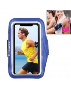 HAWEEL karra csatolható telefontok futáshoz - 7,5*15,5 cm - SÖTÉTKÉK