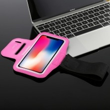 HAWEEL karra csatolható telefontok futáshoz - 7,5*15,5 cm - PINK