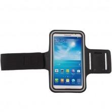 Karra csatolható telefontok futáshoz - 8,5*17,5 cm - FEKETE