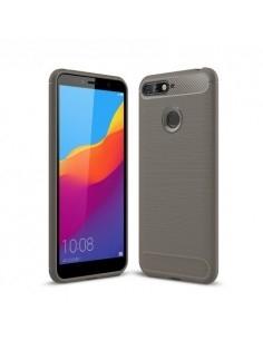 Huawei Honor 7A karbon mintás tok - SZÜRKE