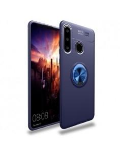Huawei P30 Lite gyűrűs tok - KÉK