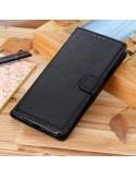 Oldalra nyíló tok Samsung Galaxy A50 telefonhoz - FEKETE