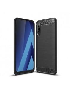 Samsung Galaxy A50 karbon mintás tok - FEKETE