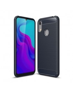 Huawei Y6 (2019) / Honor 8A karbon mintás tok - KÉK