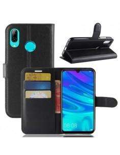 Oldalra nyíló tok Huawei P30 Lite telefonhoz - FEKETE